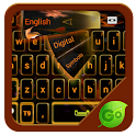 Orange Flame GO Keyboard icon