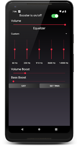 Speaker Booster with Bass Booster and Equalizer 3.1 screenshots 2