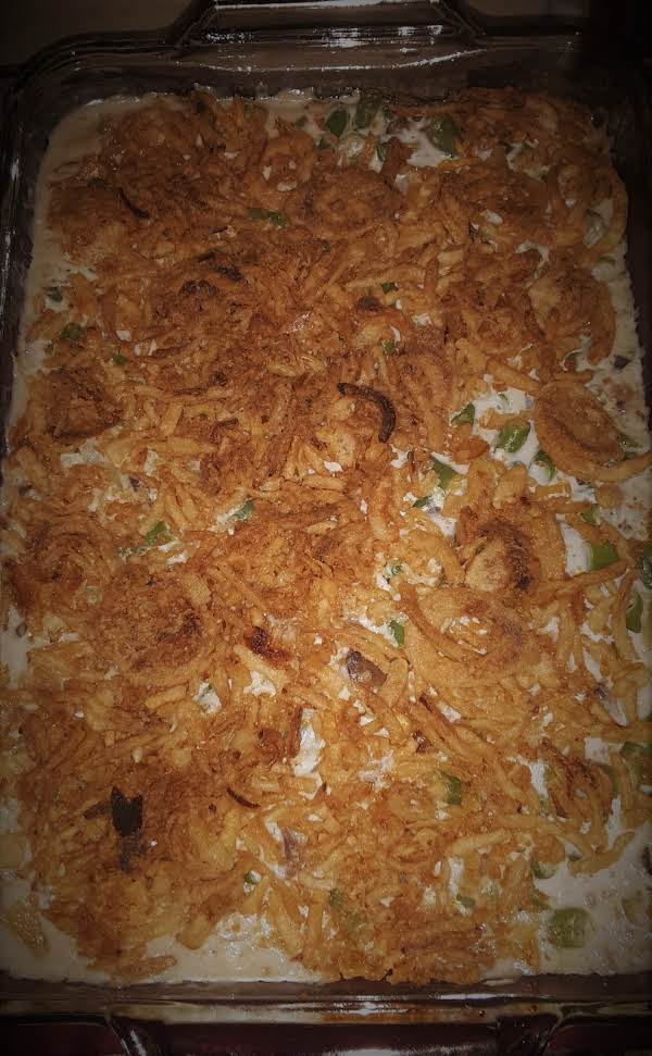 Not Your Average  Traditional Green Bean Casserole! Better!!