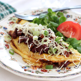 Chili Cheese Omelette.