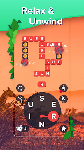 Puzzlescapes: Relaxing Word Puzzle & Spelling Game filehippodl screenshot 2