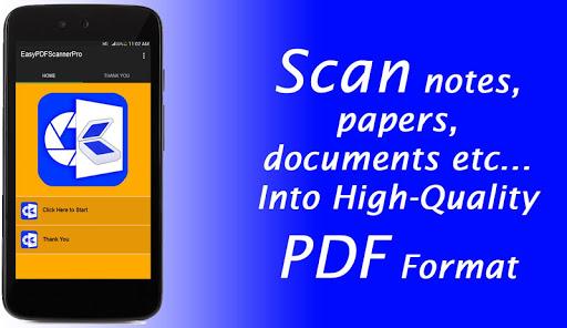 Easy PDF Scanner Pro