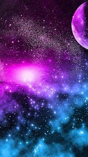 Galaxie Živé Tapety - náhled