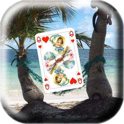 Solitaire Royal in palm Card game (game)