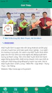 AGZ Tuyển Sinh - náhled