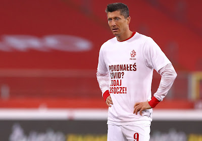 Robert Lewandowski a du mal à accepter l'élimination