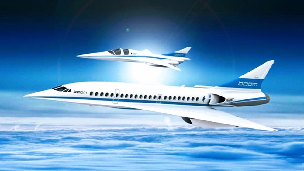 Stratasys сотрудничает с Boom Supersonic, чтобы обеспечить разработку сверхзвукового самолета.