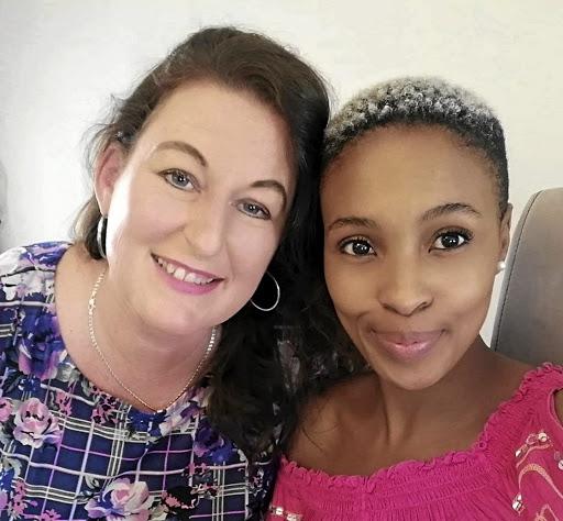 Leslee Neshehe and Bonolo Moeketsi.