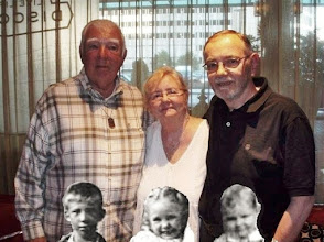 Photo: Richard Dolan, Karen (Anderson) Amon and Arthur Anderson Same names below 60 years younger