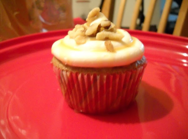 Ginger Bread Cup Cakes Recipe