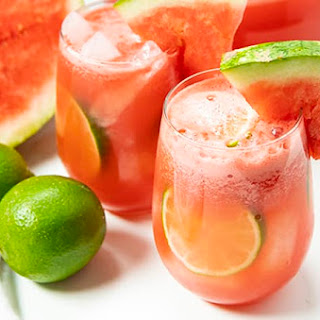 Easy Summer Watermelon Sangria.