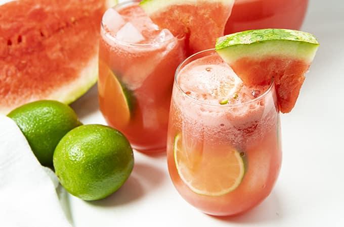 Easy Summer Watermelon Sangria Recipe