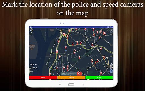 Police Detector (Speed Camera Radar)  screenshots 5