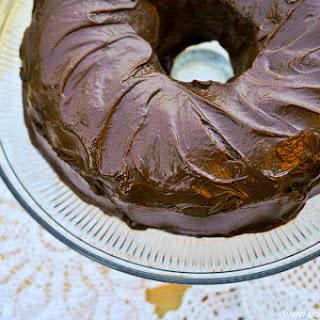 Perfect Chocolate Bundt Cake.