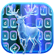 Glowing Night Deer Keyboard Theme APK