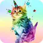 Kawaii Cats Wallpapers - Cute Backgrounds icon
