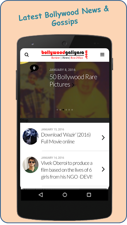 Bollywood Galiyara- screenshot
