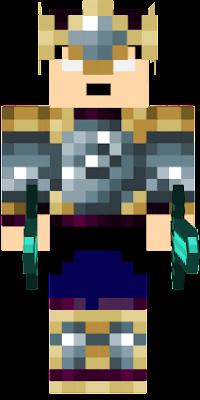 skin with two diamond swords