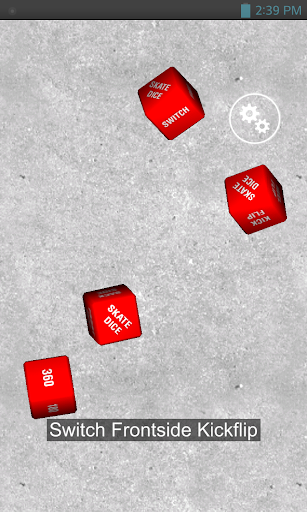 3D Skate Dice 1.0 screenshots 2