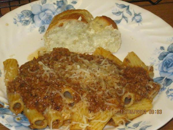 Marie's Homemade Spaghetti Sauce Recipe