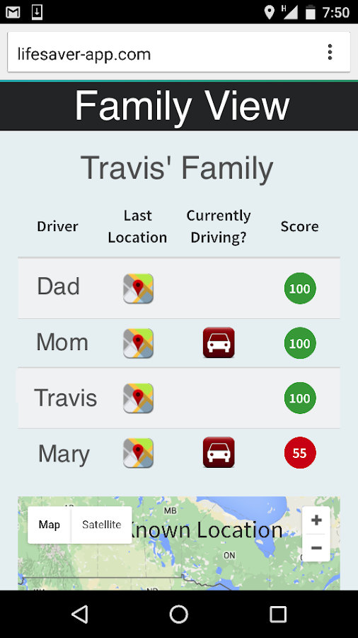 LifeSaver - Distracted Driving- screenshot
