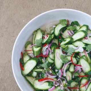 Thai Cucumber Relish (Ajat).