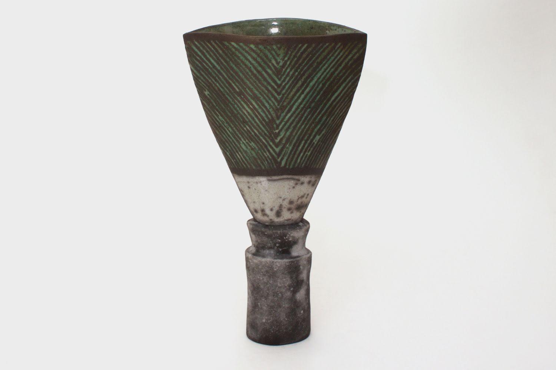 Elizabeth Raeburn Ceramic Raku Sculpture 06