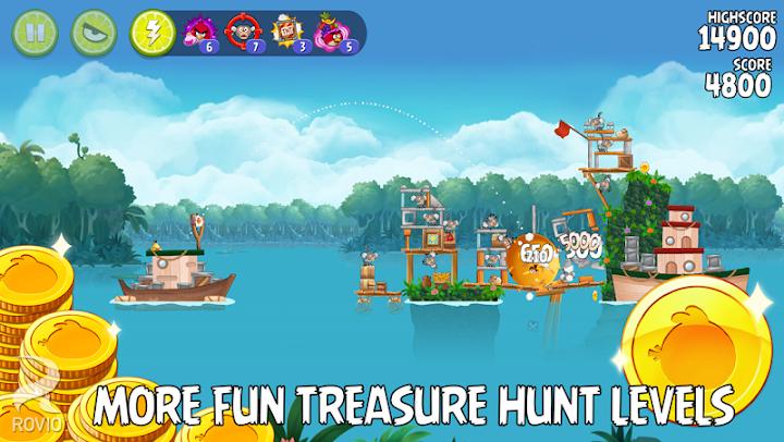 Angry Birds Rio Android App Screenshot