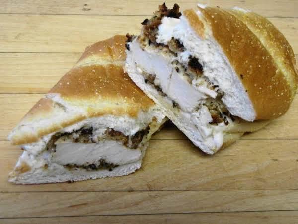 Ranch Chicken Fried Sandwich Recipe
