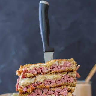 Epic Reuben Sandwich.