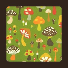Photo: Green Mushrooms *Fantasia* Special Note *will coordinate with brown straps  Now OOS