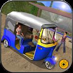 Mountain Auto Tuk Tuk driver - Offroad Rickshaw 3D Icon