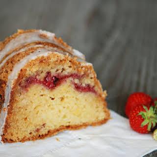 Strawberry-Sour Cream Coffee Cake.