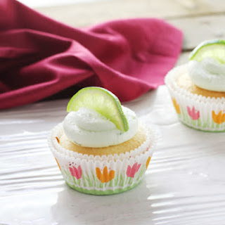 Margarita Cupcakes for Cinco de Mayo