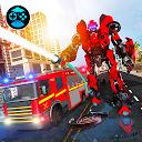 Firefighter Real Robot Rescue Firetruck Simulator