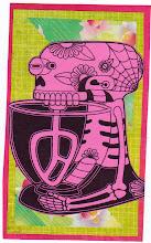 Photo: Wenchkin's Mail Art 366 - Day 167, card 167a