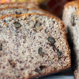 Moist and Easy Banana Bread.