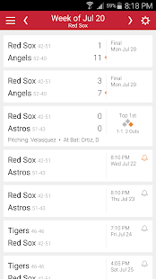 Baseball Schedule for Red Sox: Live Scores & Stats - náhled