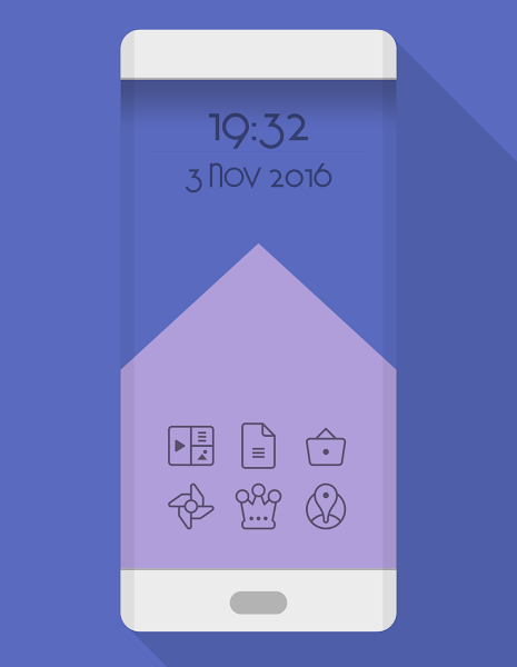 TwoPixel Dark – Icon Pack v3.7