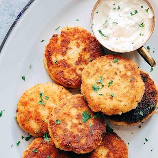 Ham Mashed Potato Cakes.