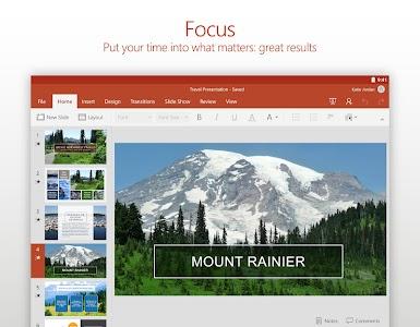 Microsoft PowerPoint v16.0.7301.1008