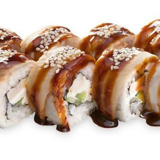 Roll Philadelphia with eel and avocado