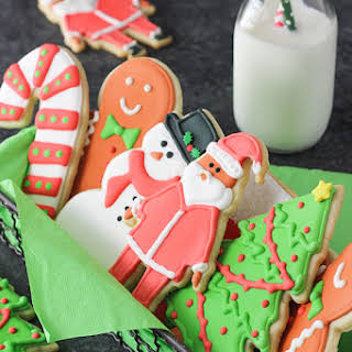 Cutout Sugar Cookies.