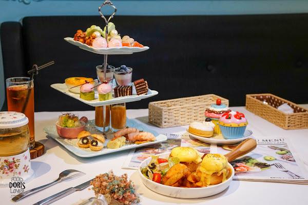 春日甜-中山美食餐廳-享受一日貴婦下午茶X吃不膩的日本藍帶甜點蛋糕