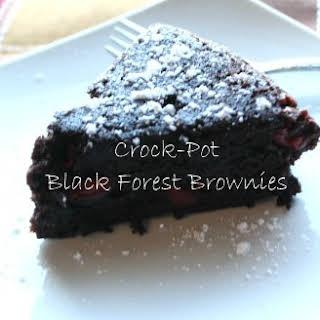 Crock-Pot Black Forest Brownies.