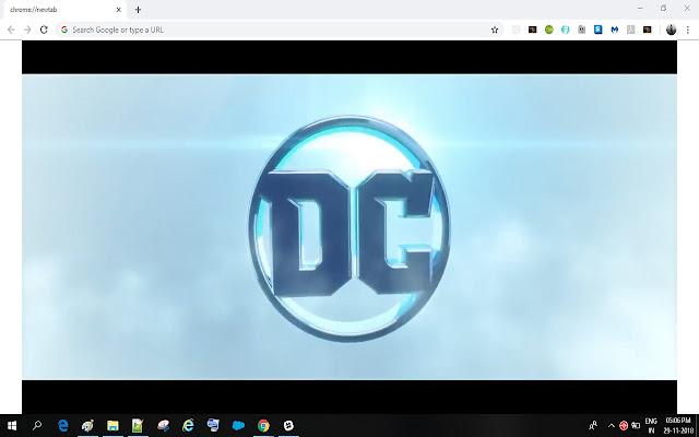 DC Logo Theme
