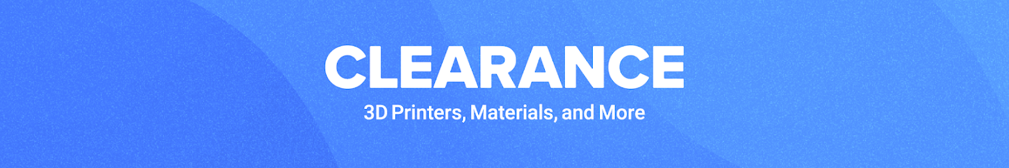 Clearance - 3D Printers