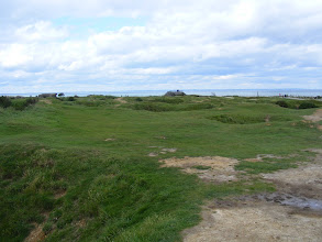 Photo: We move on to the battle area, which has been left untouched for more than six decades.