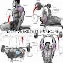 Gym Workout Routine Exercise icon