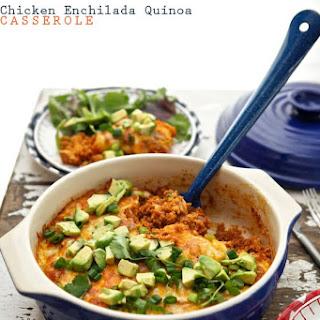 Chicken Enchilada Quinoa Casserole.